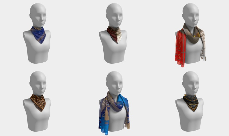 Scarves (Square, Long) preview