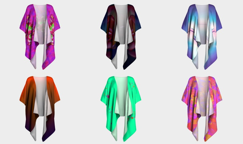 Aperçu de Draped Kimono Collection