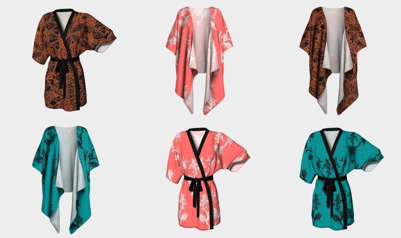 Kimonos and Peignoirs preview