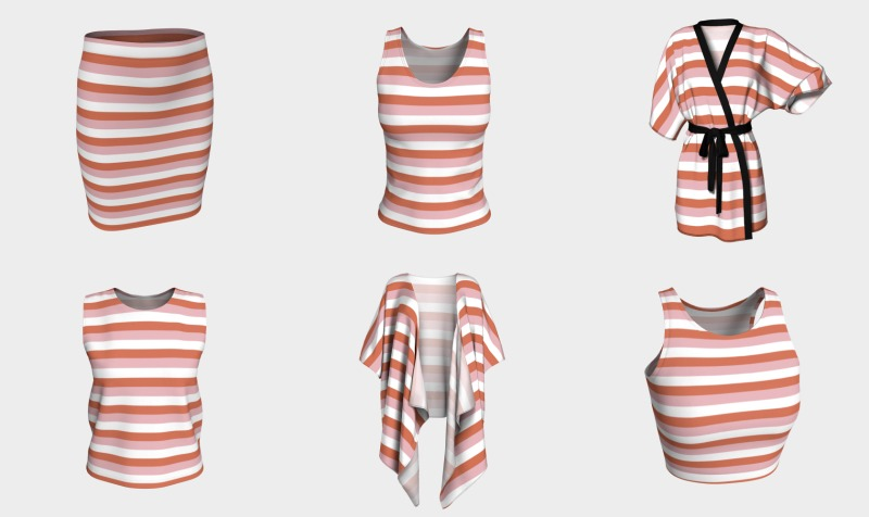 Colorful Stripes Apparel preview