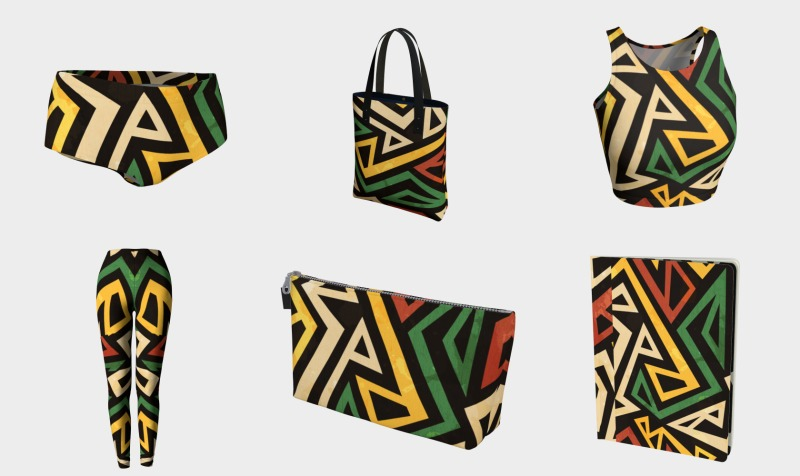 Frenetta Tate Africa Love Collection preview