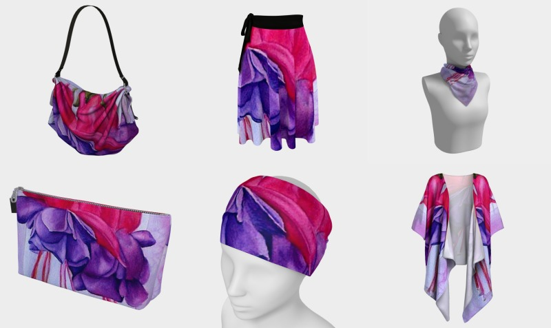 FUCHSIA FLOWERS preview