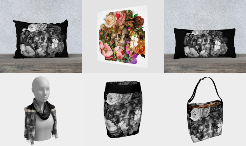 Skull Floral preview