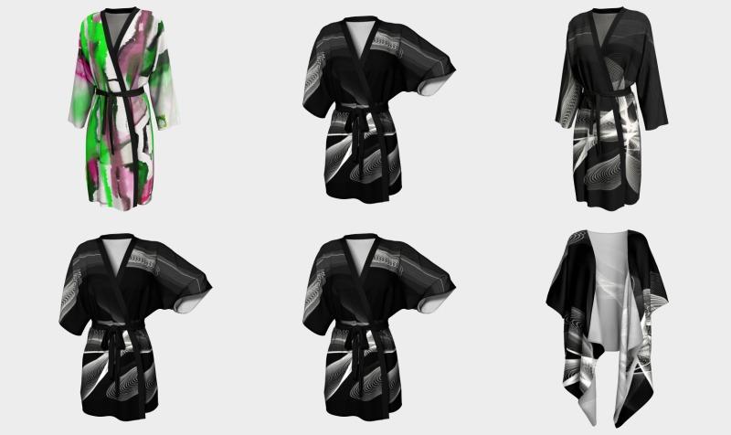 Aperçu de Kimono et robe de chambre