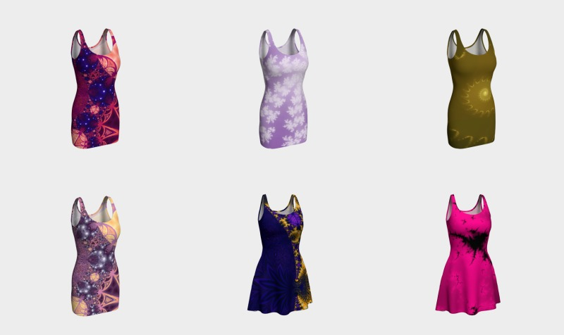 Fractal Art Dresses preview