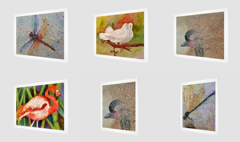 WALL ART - ANIMALS AND BIRDS preview