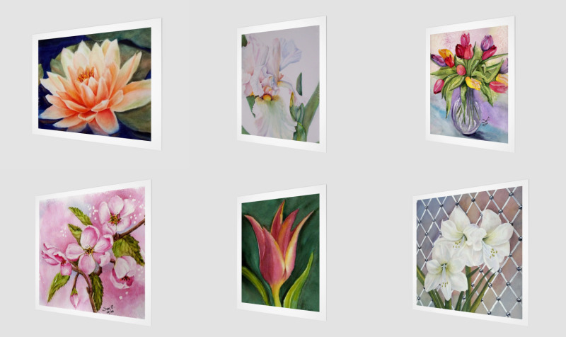 WALL ART - FLOWERS preview