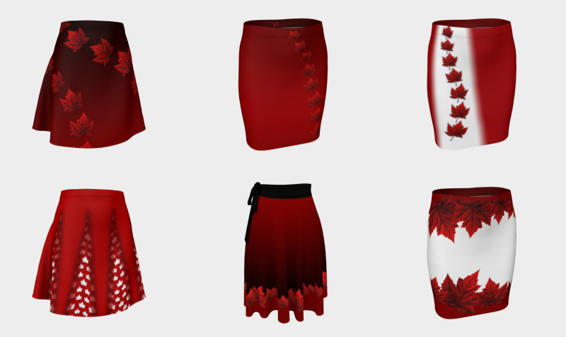 Canada Skirts preview