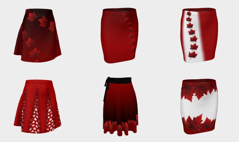 Aperçu de Canada Skirts