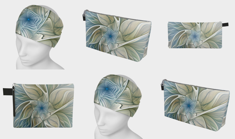 Floral with Blue Accessories preview