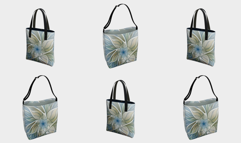 Floral with Blue Bags preview