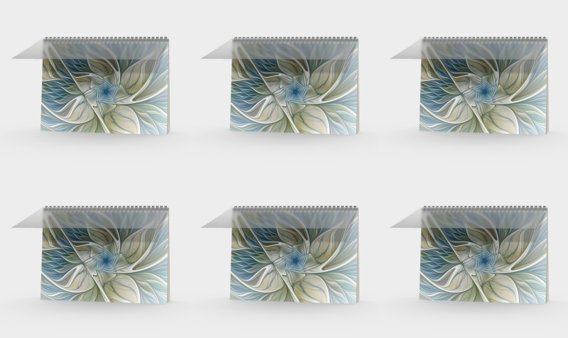 Floral with Blue Books preview