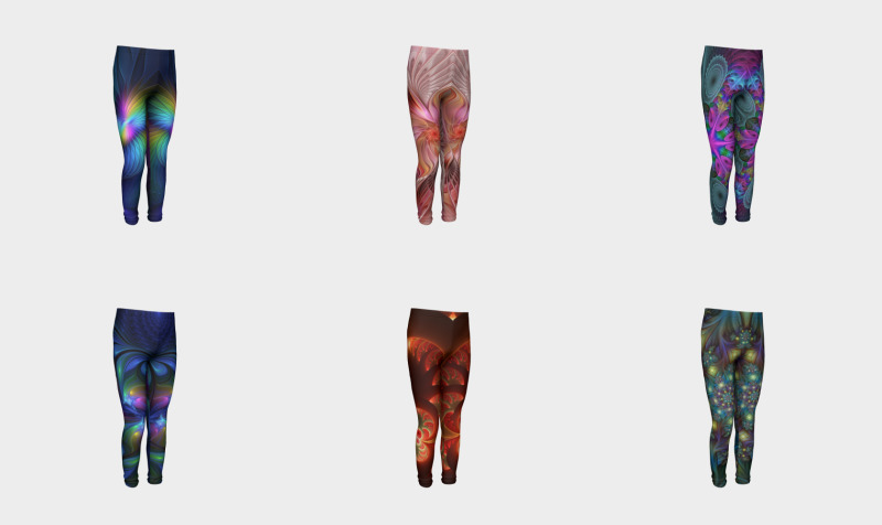 Colorful Youth Leggings preview