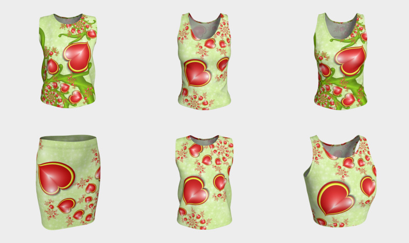 With Much Love - Matching Tops, Skirts, Leggings and Capris preview