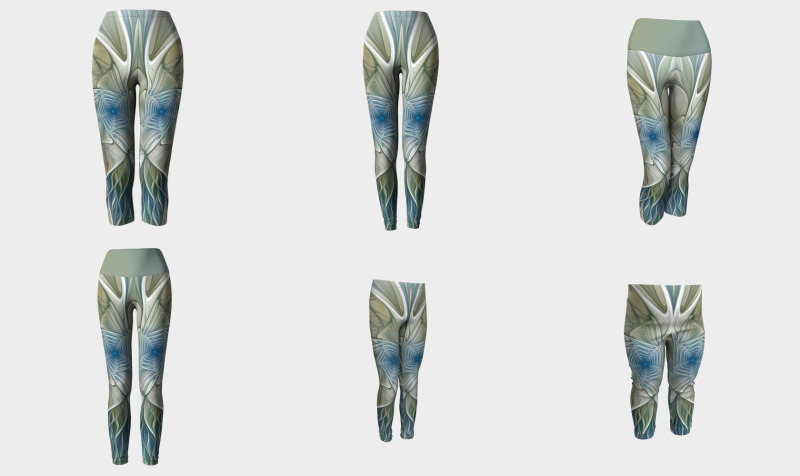 Floral Dream Pattern - Compatible Tops, Skirts, Leggings and Capris preview