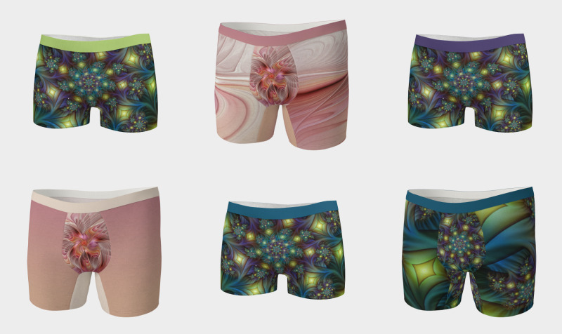 Colorful Boxer Briefs and Boyshorts preview