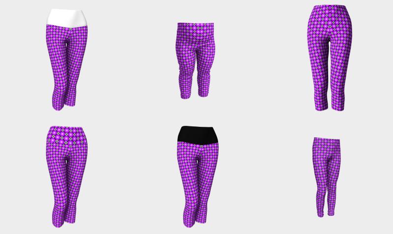 Patterned Capris + Leggings preview