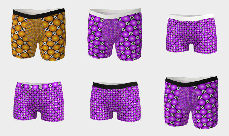 Patterned Boy Shorts + Boxer Briefs preview
