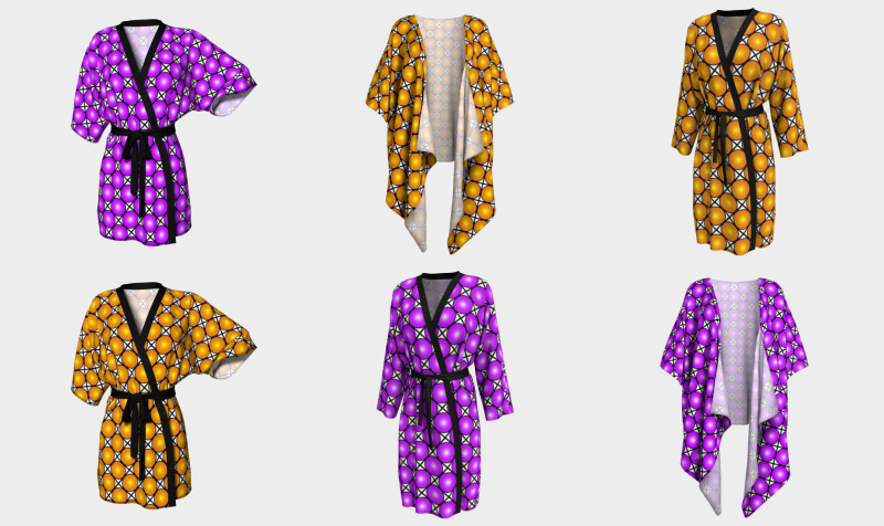 Patterned Kimonos + Peignoirs preview