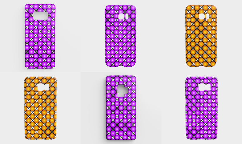 Patterned Galaxy Cases preview
