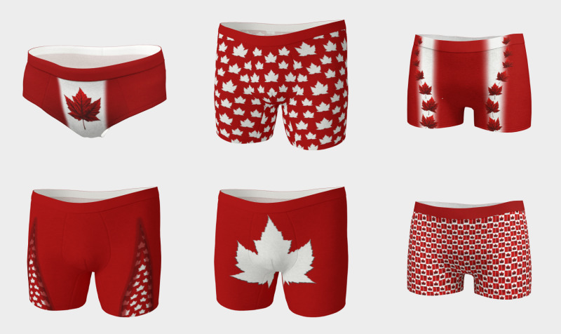 Canada Underwear Collection preview