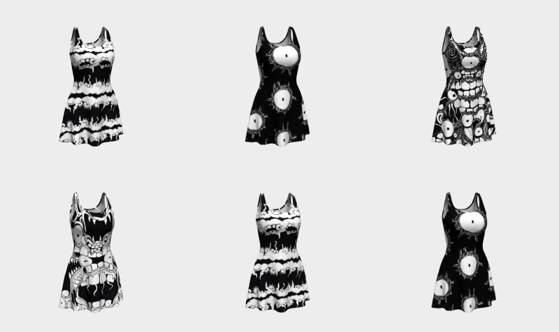 Monster Flare Dresses preview