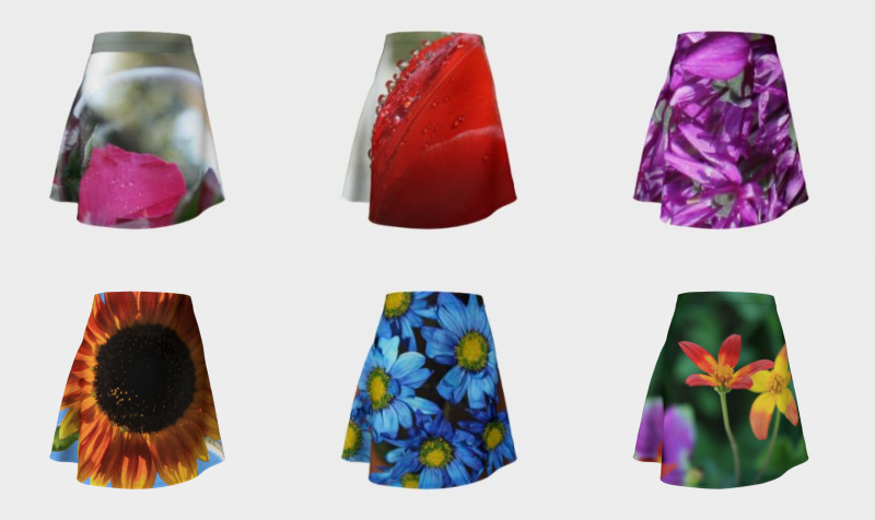 Floral Flare Skirts  preview