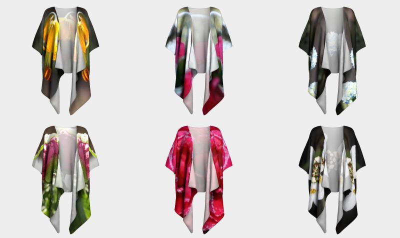 Floral Draped Kimonos  preview