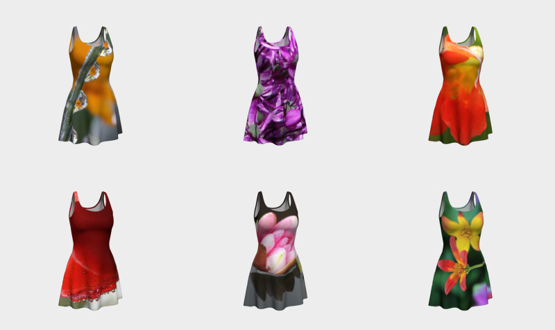 Floral Flare Dresses  preview