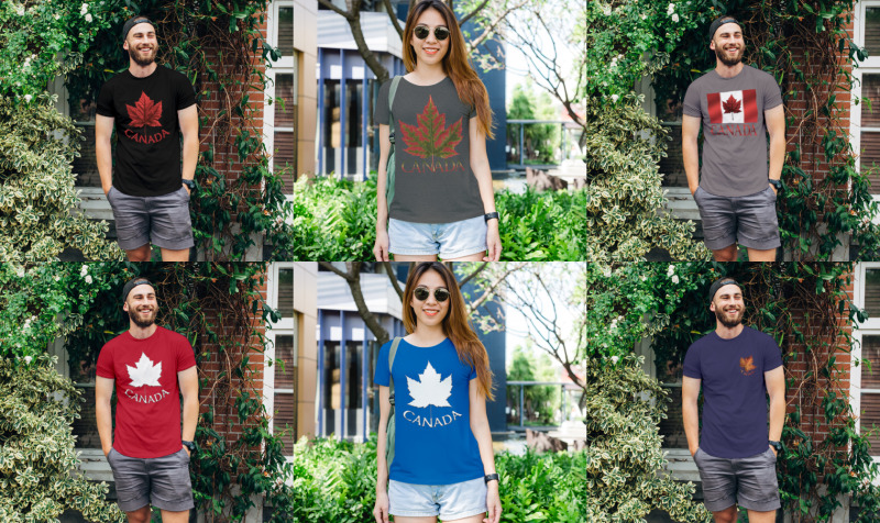 Canada T-shirts Collection preview