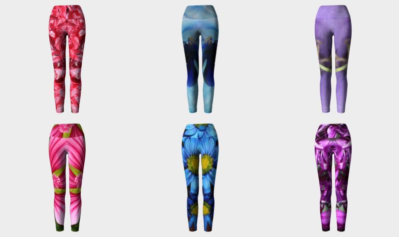 Floral Yoga Leggings preview