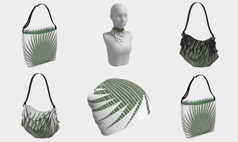 Palm leaf preview