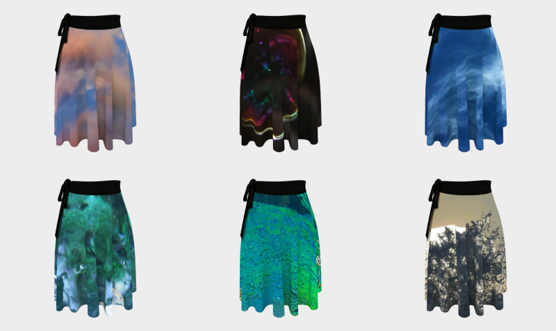 Worldwide Landscapes Wrap Skirts preview