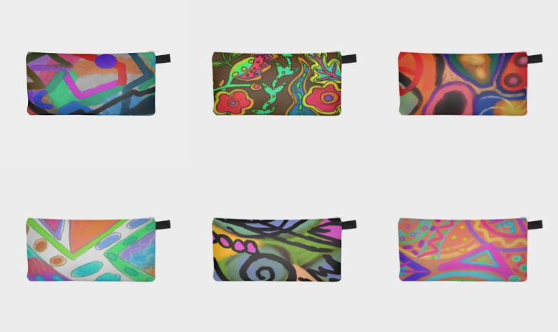 Abstract Art Pencil Cases preview