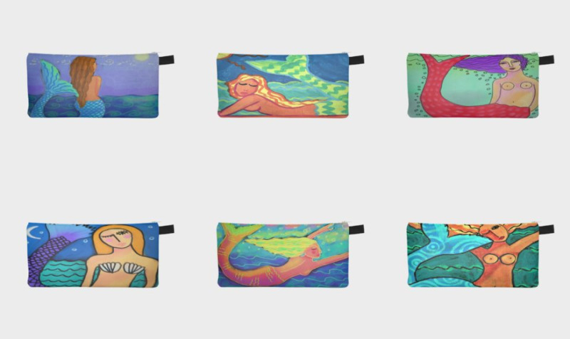 Lovely Mermaid Pencil Cases preview