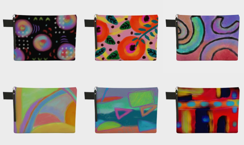 Aperçu de Abstract Art Zipper Cases