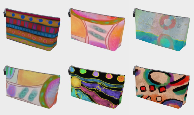 Aperçu de Abstract Art Makeup Bags