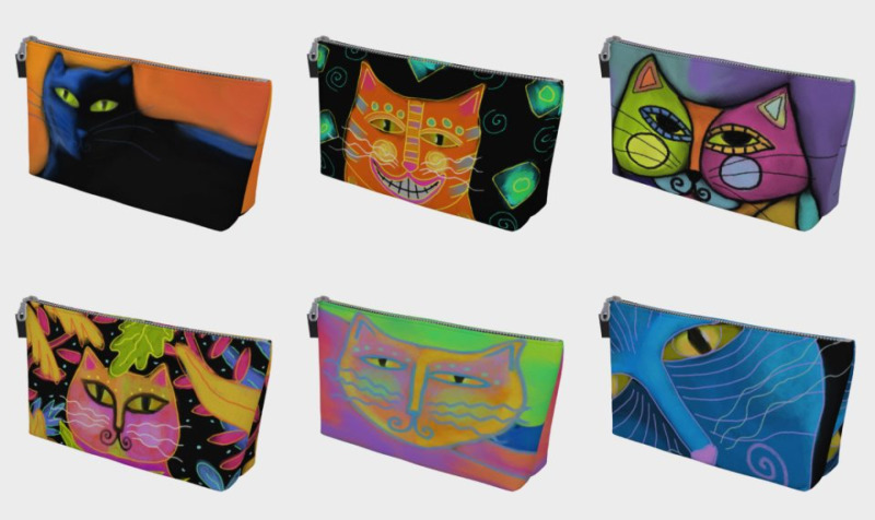 Funky Cats Makeup Bags preview