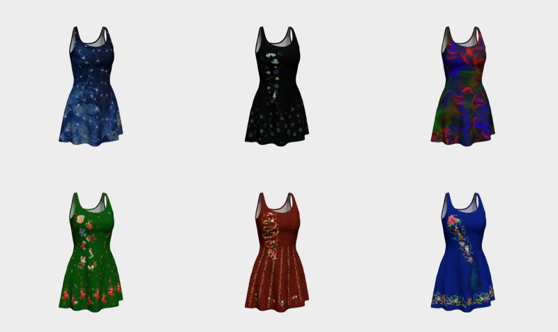 Christmas Flare Dresses preview