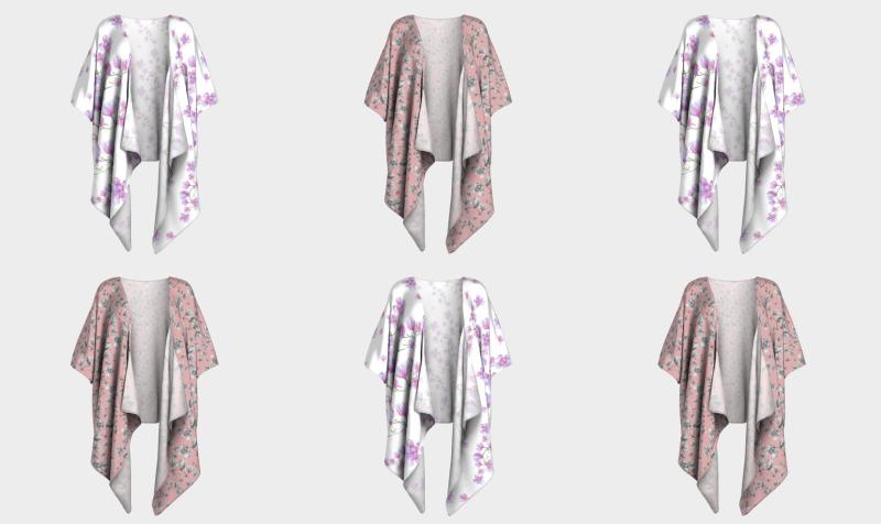 Droped Kimono preview