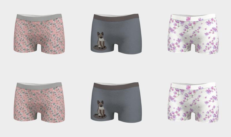 Boy shorts preview