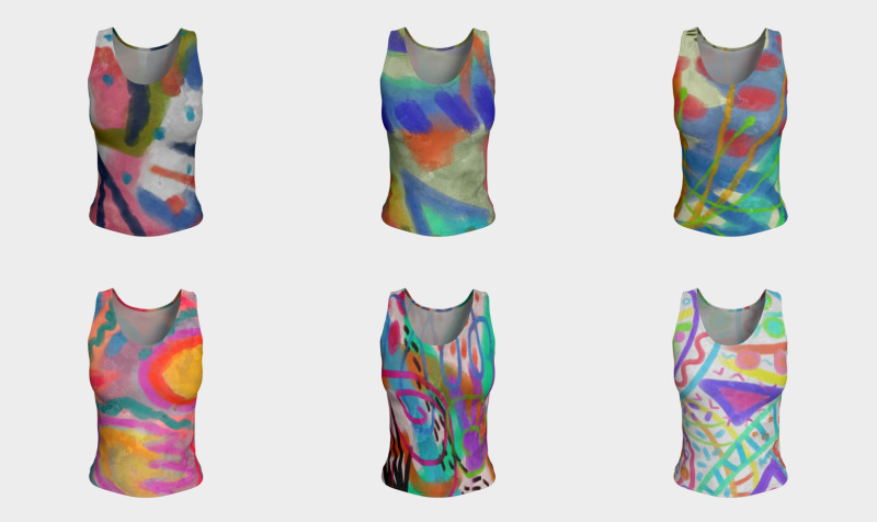 Abstract Art Women's Tank Tops preview