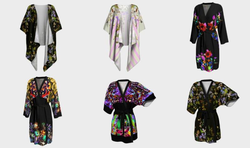 Aperçu de Kimonos & Peignoirs