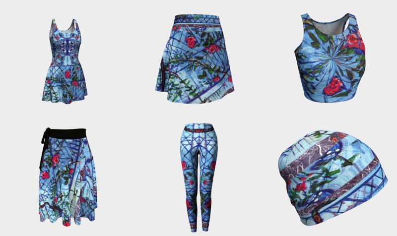 Roses & Brambles / Devin Fashion-Match Art preview