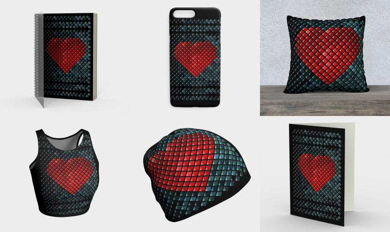 Mosaic Heart preview