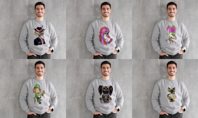 Original Design Unisex Crewneck Sweatshirts preview