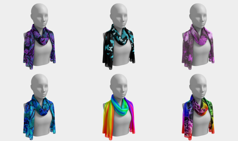 silk scarves preview