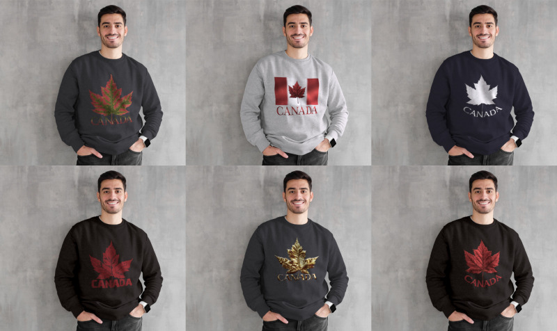 Aperçu de Canada Sweatshirts Collection