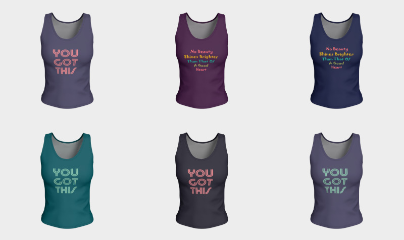 Fitted Tank Tops preview
