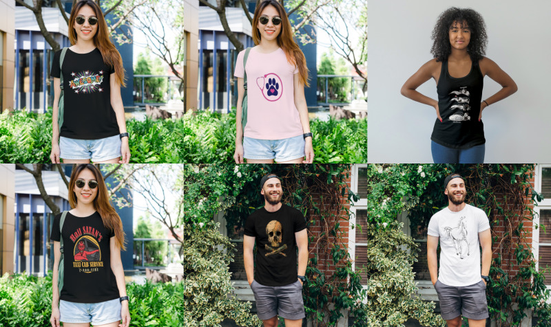 Aperçu de Men & Women Tshirts